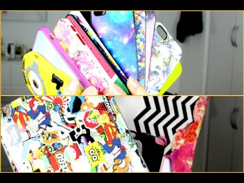mes coques de t l phone kawaii youtube. Black Bedroom Furniture Sets. Home Design Ideas