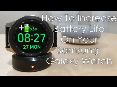 How To Increase Battery Life On Your Galaxy Watch - Hands On