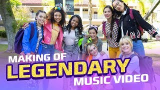 Behind the Scenes of the Legendary Music Video | Disney Channel