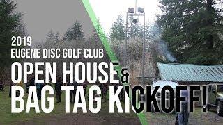 Eugene Disc Golf Club - 2019 Bag Tag Kick Off
