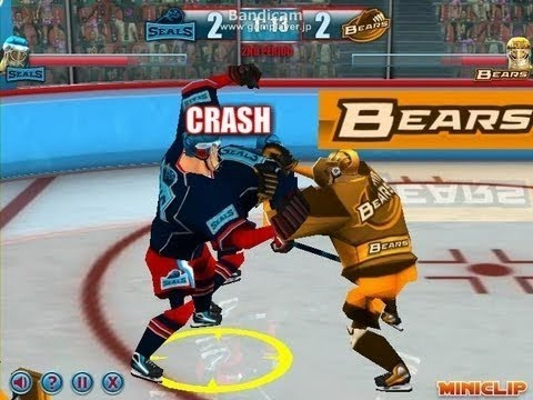 Miniclip Games Sports Play Ice Hockey Heroes Gameplay Online For