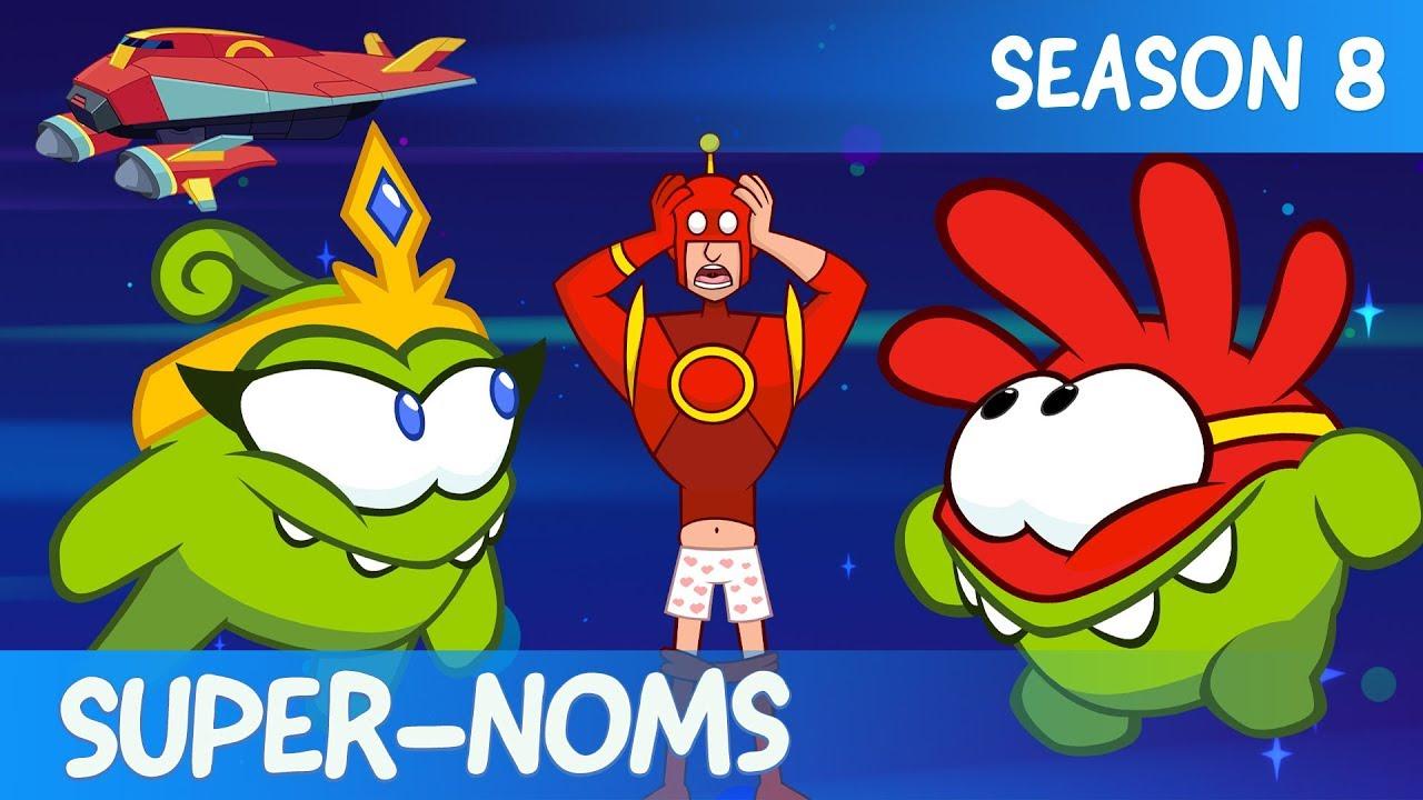 Populaire préféré Om Nom Stories - Super-Noms (Сut the Rope) - YouTube &TA_51
