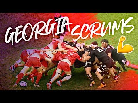 Rugby's Most Dominant Scrum? 🤯 Georgia's Best Scrums | RWC + U-20 Championship