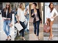 Black White Women Blazer Fashion Style