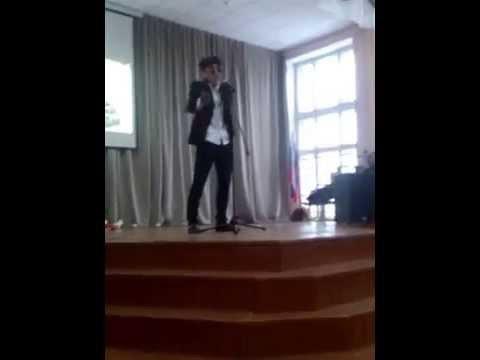 Выступление Григория Лепса в школе№3 г.Кушва