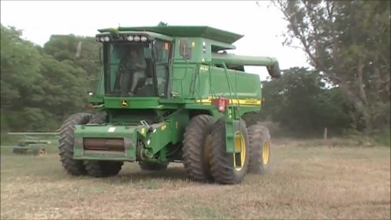 a De Trigo 9750stsBy S Deere Establecimiento León Colgado Wheat Cosecha Argentina 2011john Harvest w0N8OkXPn