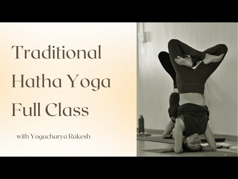 Hatha Yoga Traditional Class in Mysore India - One hour Full