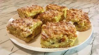 Тертый Пирог с Творогом / Crumble With Cottage Cheese / Песочный Пирог / Творожный Пирог