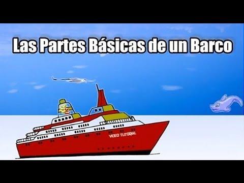Terminolog a de un barcos aprender las partes de un - Imagenes de barcos infantiles ...