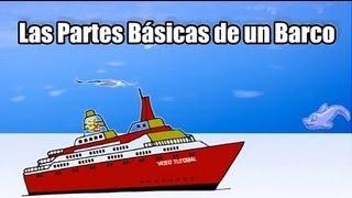 Terminología de un Barcos Aprender las Partes de un Barco Proa Popa Estribor Babor