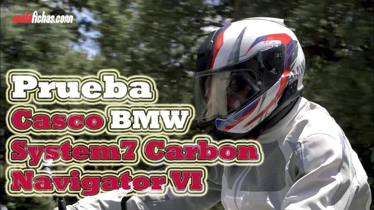 Probamos El Casco Bmw System 7 Carbon Y El Sistema