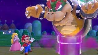 Super Mario 3D World - World 1 Walkthrough (2 Players)