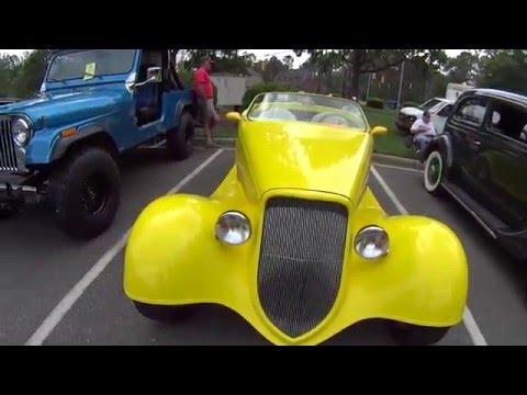 Выставка Ретро Авто 2016. North Carolina USA.