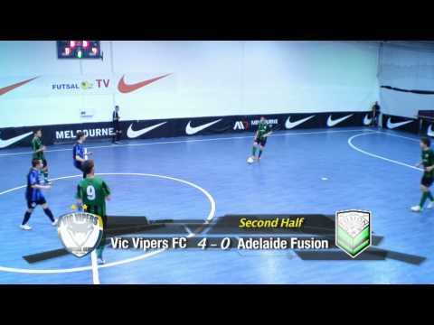 Vic Vipers FC v Adelaide Fusion FC, Group A, Game 11, FAFL Cup 2012