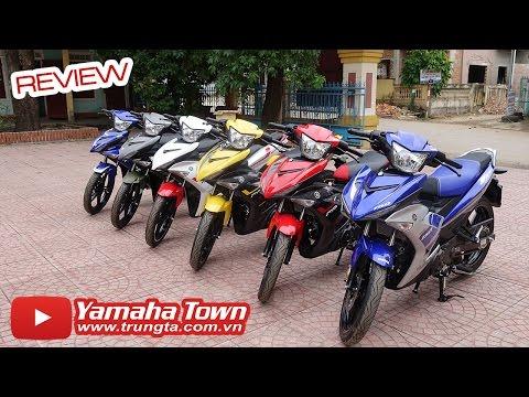 Yamaha Exciter 150 2016 Review - Tổng hợp các màu xe! ✔