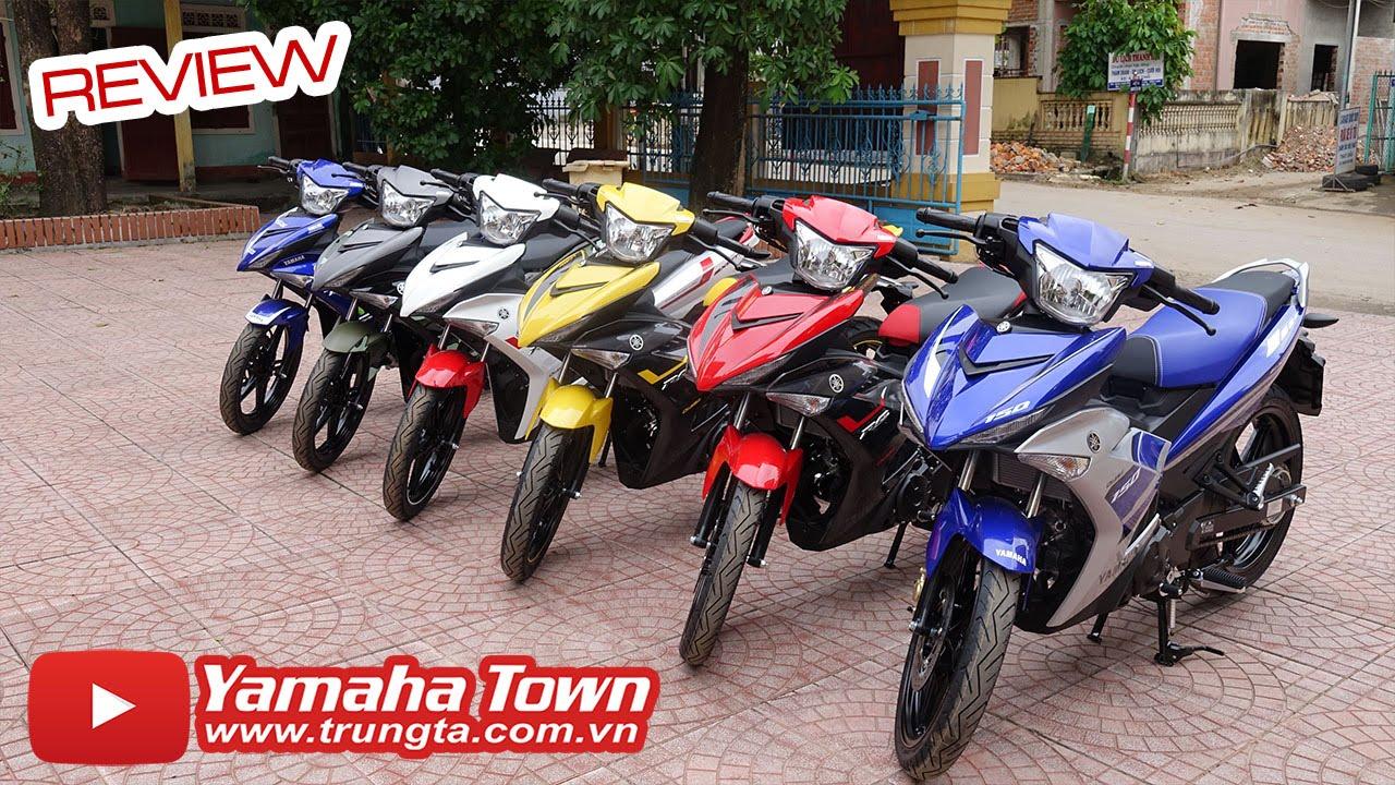 Yamaha Exciter 150 2016 ▶ Đánh giá Tổng hợp các màu sắc xe!