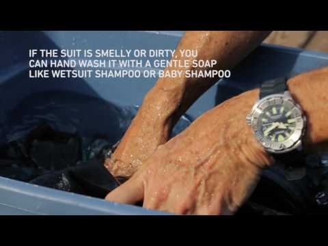 Scuba How-To: Post-Dive Wetsuit Care