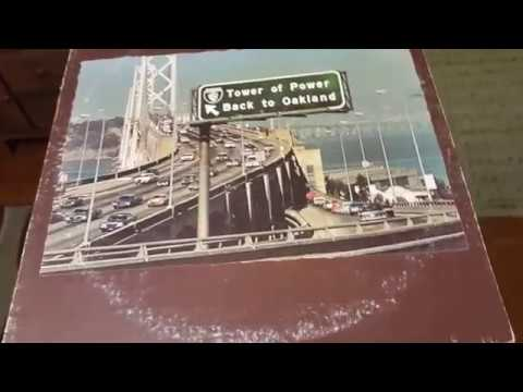 Tower of Power BACK TO OAKLAND LP * Squib Cakes 1974