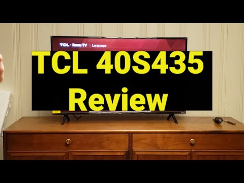 TCL 40S325 40 Inch 1080p Smart LED Roku TV Review 2020
