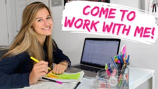 Full Work Day In My Life!! (calls, meetings, editing, posting, and eating ofc)