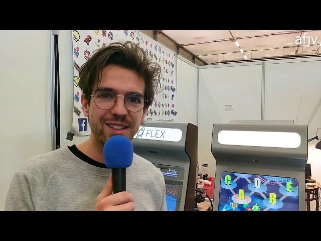 Flex, une jeune société française, fabrique des bornes d'arcade
