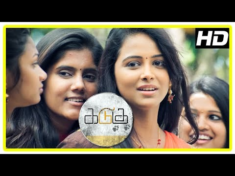 Thumbnail: Kadugu Movie Scenes | Subiksha falls for Bharath | Rajakumaran and Radhika become facebook friends