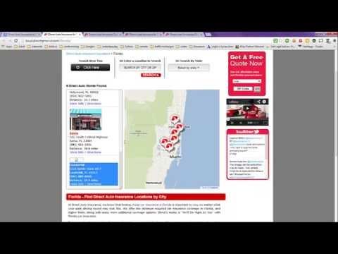 Direct Auto Insurance in Florida