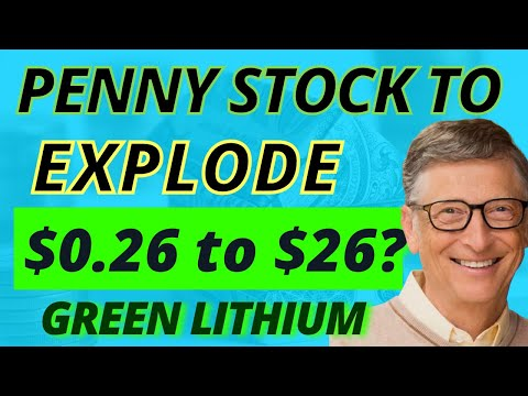 Bill Gates Backs This $0.26 Penny Stock To Disrupt Lithium Mining   100X Upside Potential HURRY! 🚀🚀🚀