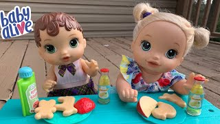 Baby Alive Abby Snack Time Routine baby alive videos