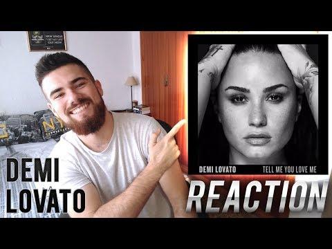 DEMI LOVATO - TELL ME YOU LOVE ME | ALBUM REACTION / REACCIÓN