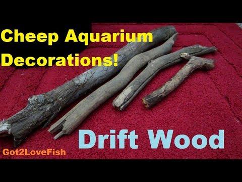 How To Make Drift Wood Safe For Aquarium