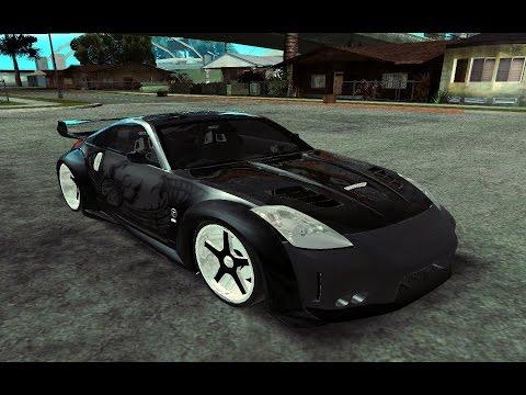 GTA San Andreas: Nissan 350z Tunable