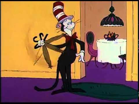 dr seuss the cat in the hat youtube