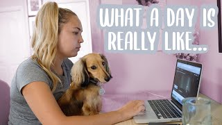DAY IN THE LIFE WITH A MINIATURE DACHSHUND