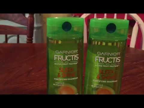 Free Garnier Fructis shampoo at Dollar General