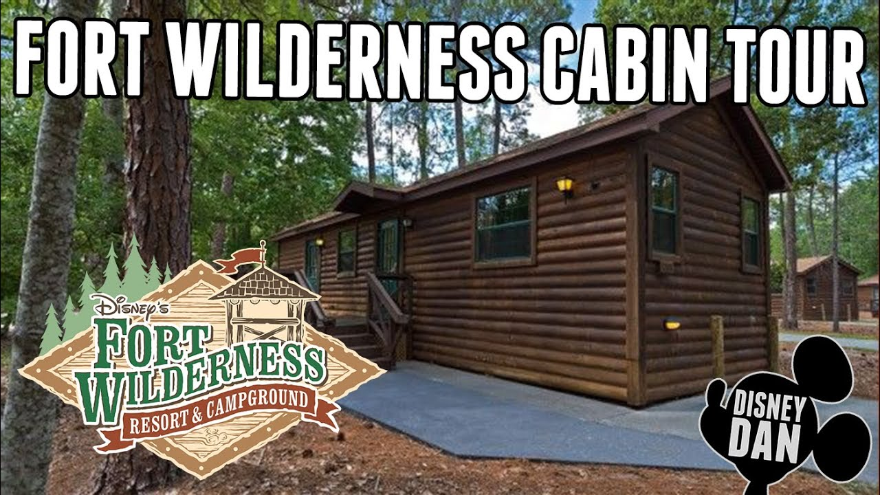 Cabins At Disneyu0027s Fort Wilderness Resort Cabin Tour!   Disney World Resort