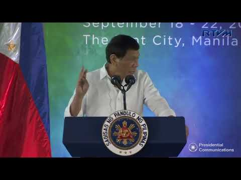 LU 9/18/17: Pres. Duterte at the 6th MCLE Accredited National Convention of Public Attorneys