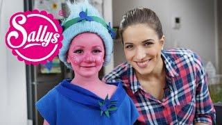 The Trolls Kinderschminke / Movie Makeup / Schritt-für-Schritt