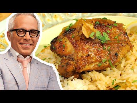 Geoffrey Zakarian Makes Filipino Adobo Chicken | Food Network