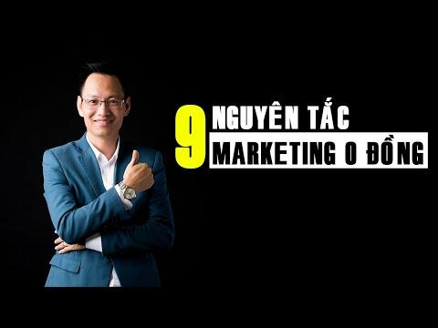 9 Nguyên Tắc Làm Marketing 0 Đồng Hiệu Quả | Facebook Marketing – Nguyễn Trí Long | #longcactus