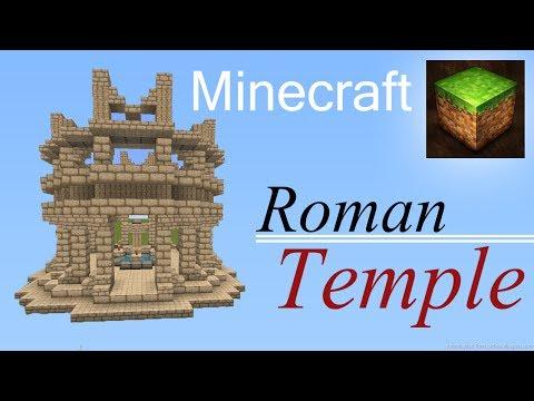 Minecraft Roman Temple tutorial
