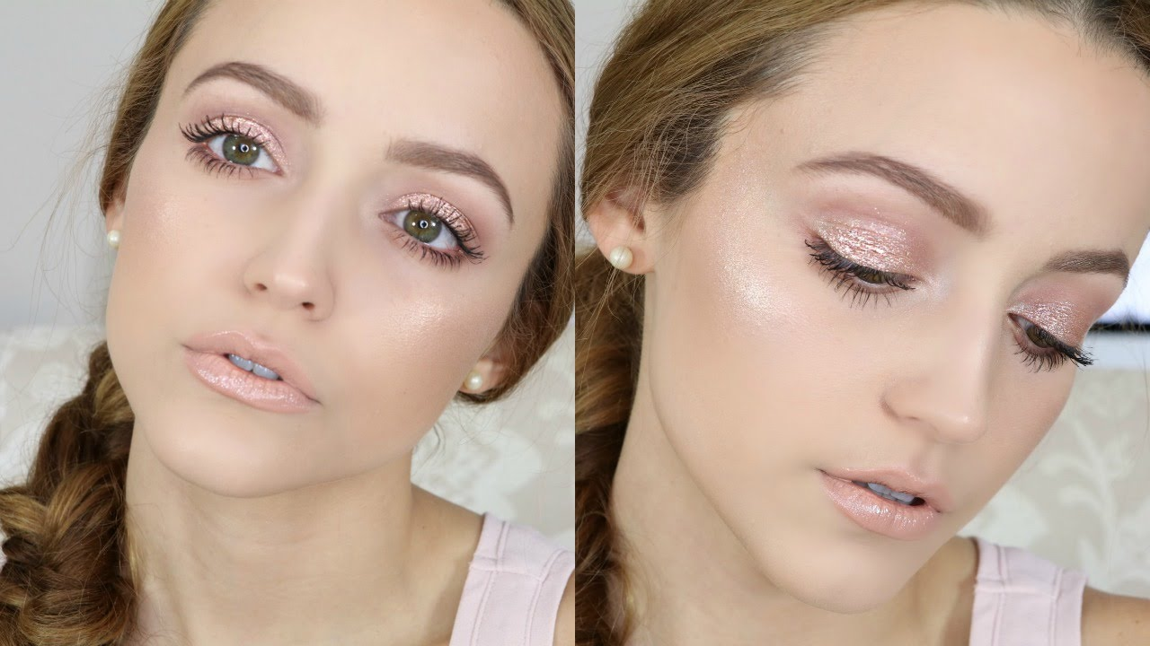 Romantic Soft Pink Makeup Tutorial