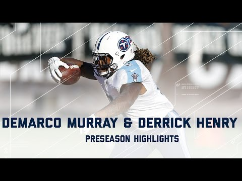 Derrick Henry & DeMarco Murray Highlights | Titans vs. Raiders | NFL