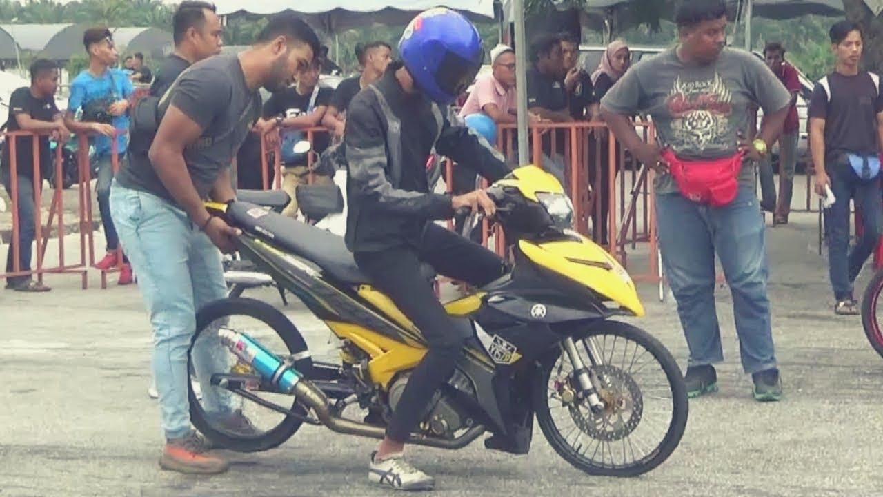 PART 2/3 YAMAHA Y15zr LC 135 Drag Bike Ogos Drag Racing Kubang Menerong 2019