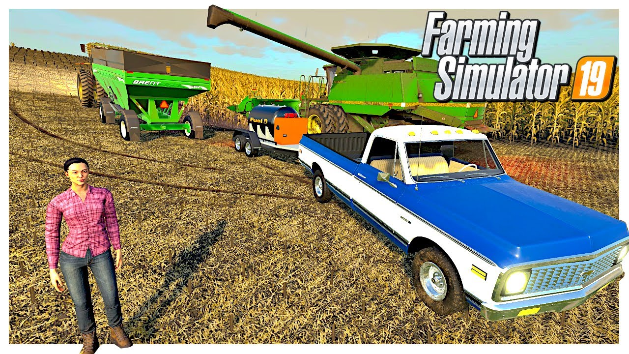 FIELD BREAK DOWNS & BAD WEATHER DELAYS OUR HARVEST | Missouri River Bottoms | Farming Simulator 19