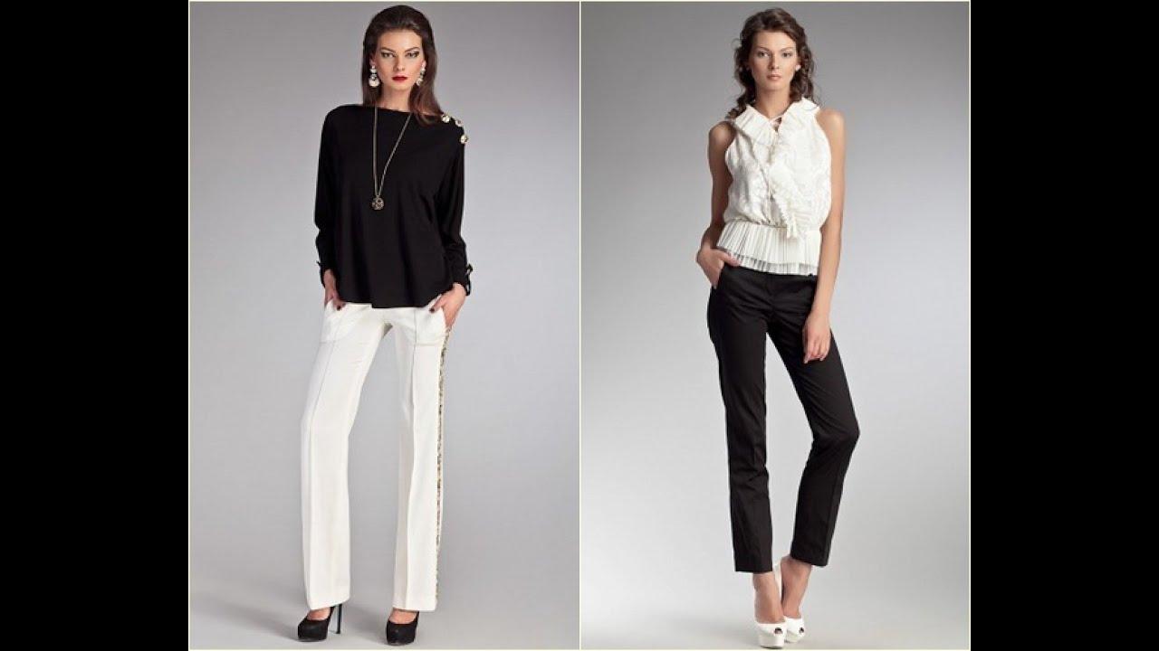 Выбираем модные женские брюки изоражения