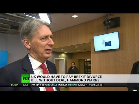 Hammond warns UK would have to pay Brexit divorce bill without deal