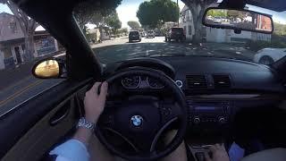 2008 BMW 135i Convertible E82 - POV Review