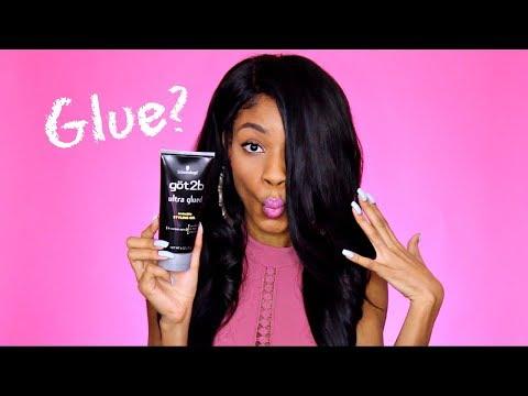 GOT2B Glued Hair Gel Review►Ultra Glued Invincible on Natural Hair