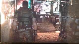 resident evil 6 ai error gameplay!